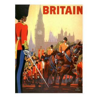Viaje del vintage, Gran Bretaña Inglaterra, Postal