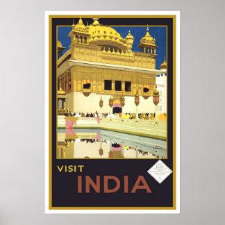 Viaje del vintage, la India Impresiones