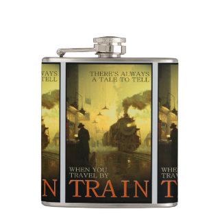 Viaje del vintage por el frasco líquido del valor