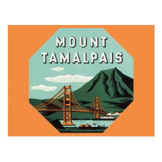 Viaje del vintage soporte Tam montaña de Tamalpa