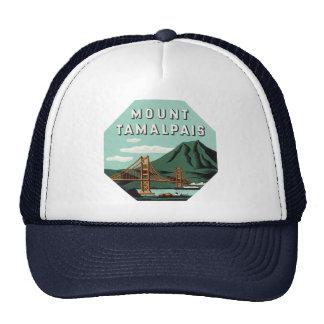 Viaje del vintage, soporte Tam, montaña de Tamalpa Gorros