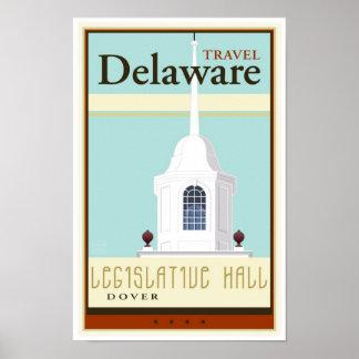 Viaje Delaware Poster