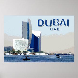 Viaje Dubai Póster