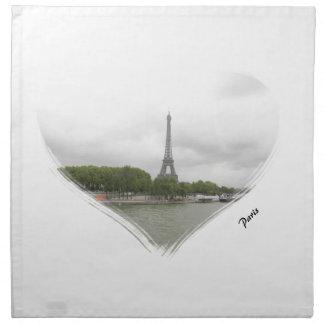 Viaje Eiffel de París Servilleta De Papel