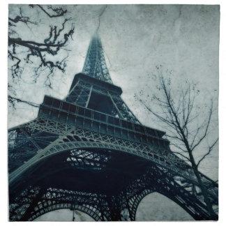 viaje Eiffel de París Servilleta Imprimida