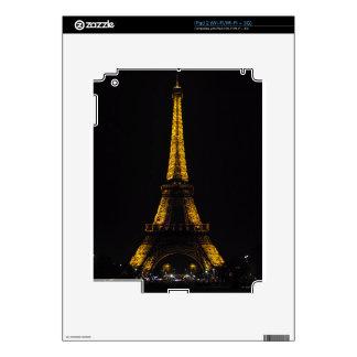 Viaje Eiffel del La iPad 2 Calcomanías