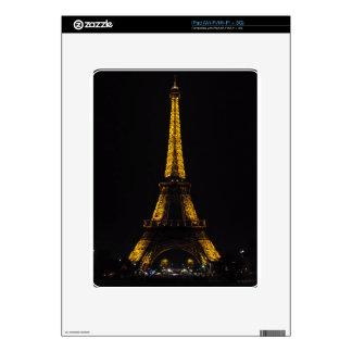 Viaje Eiffel del La iPad Skins