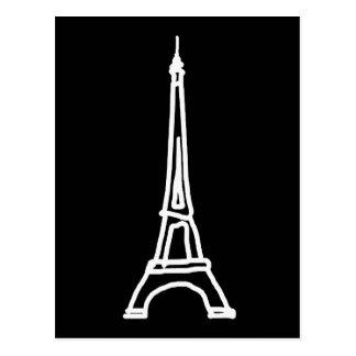 viaje Eiffel del la Tarjetas Postales