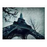 viaje Eiffel del postale de la Eiffel-carta del vi Tarjetas Postales
