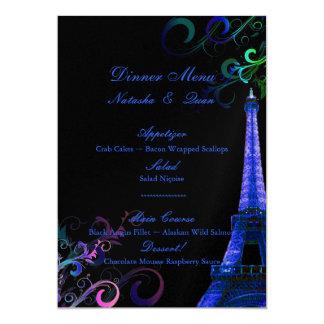 """Viaje Eiffel/París del la de PixDezines Invitación 5"""" X 7"""""""