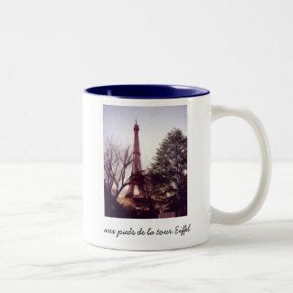 Viaje Eiffel, viaje aux. Eiffel del La del la del  Tazas