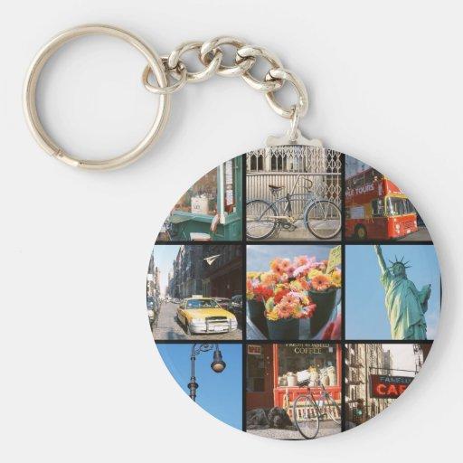 Viaje en el extranjero a NewYork Llaveros Personalizados
