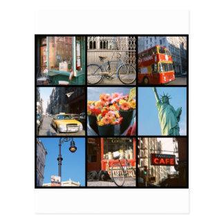 Viaje en el extranjero a NewYork Postales