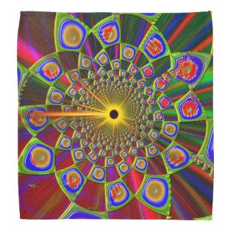 Viaje en la óptica psicodélica 3d bandanas
