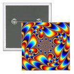 Viaje espacial - fractal pin
