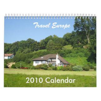 Viaje Europa Calendarios De Pared