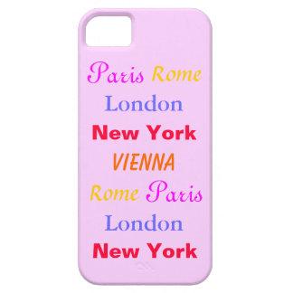 Viaje femenino - caso del iPhone 5 Funda Para iPhone 5 Barely There
