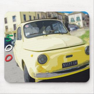 Viaje Fiat 500 Cinquecento, Italia del vintage, am Alfombrillas De Ratones