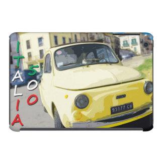 Viaje Fiat 500 Cinquecento Italia del vintage am Fundas De iPad Mini Retina