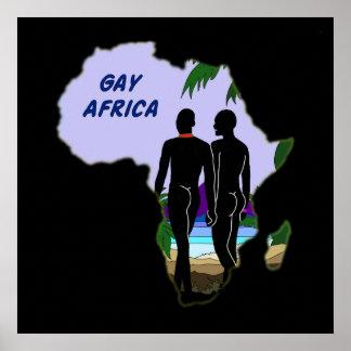 Viaje gay de África Póster