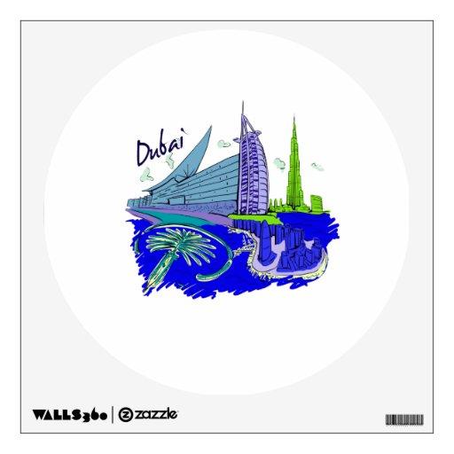 viaje gráfico azul design.png de la ciudad de Duba