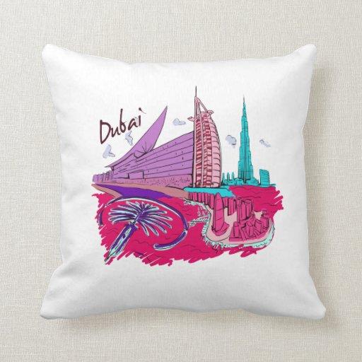 viaje gráfico design.png del rosa de la ciudad de  almohada
