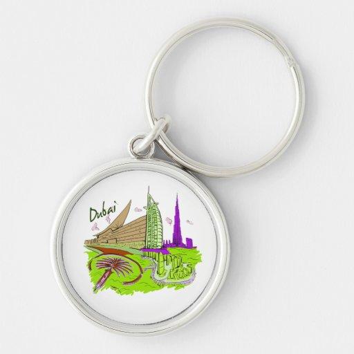 viaje gráfico design.png del verde de la ciudad de llaveros
