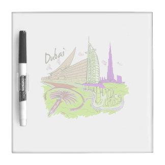 viaje gráfico design.png del verde de la ciudad de pizarra blanca