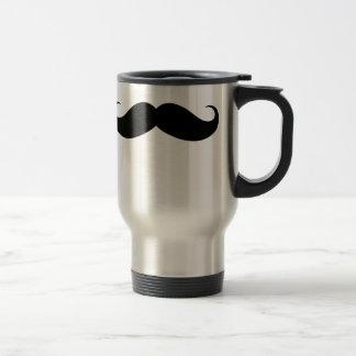 Viaje grande divertido del bigote/taza del viajero taza de viaje de acero inoxidable