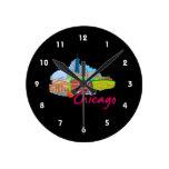 viaje graphic.png de la ciudad 2 de Chicago Relojes