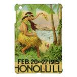 Viaje hawaiano del vintage iPad mini protector