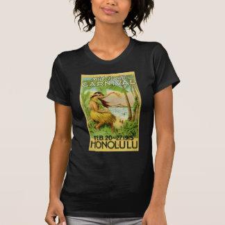 Viaje hawaiano del vintage camisetas