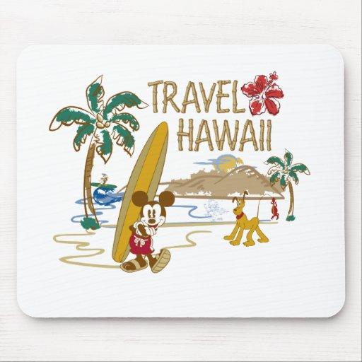 Viaje Hawaii de Mickey Mouse Tapete De Raton