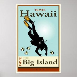 Viaje Hawaii Póster