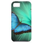 Viaje hermoso de la mariposa iPhone 5 Case-Mate coberturas