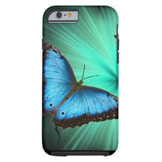 Viaje hermoso de la mariposa funda de iPhone 6 tough