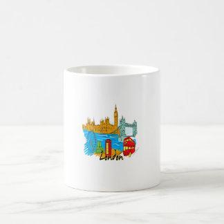 viaje image.png de la ciudad de Londres Tazas De Café
