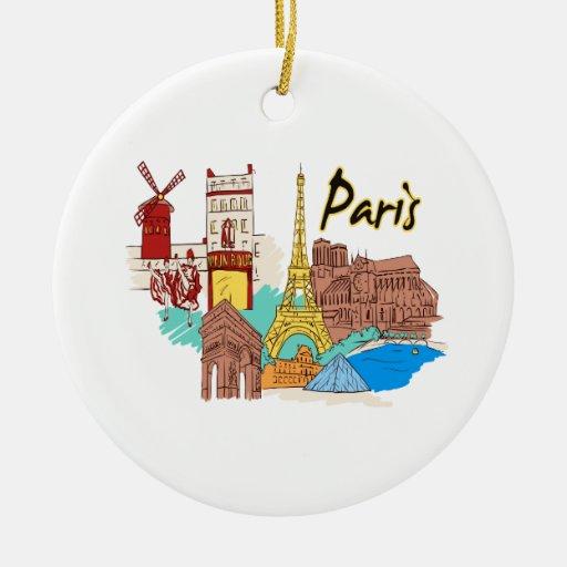 viaje image.png de París Francia Ornamentos Para Reyes Magos