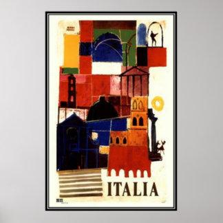 Viaje Italia del vintage - Poster