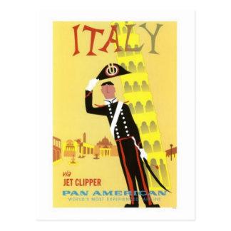 Viaje Italia del vintage - Tarjetas Postales