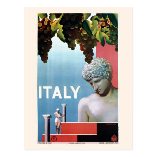 Viaje italiano de Italia de los años 30 del Tarjeta Postal