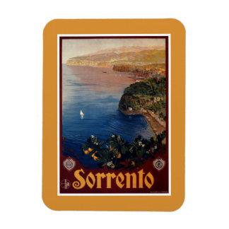Viaje italiano de Sorrento de los años 20 del vint Imanes Rectangulares