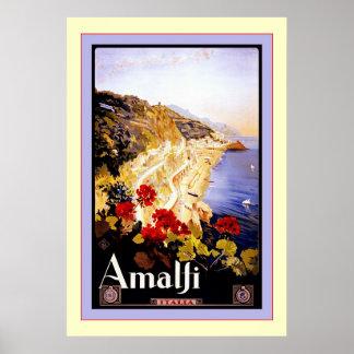 Viaje italiano del vintage del ~ de Italia del ~ d Posters