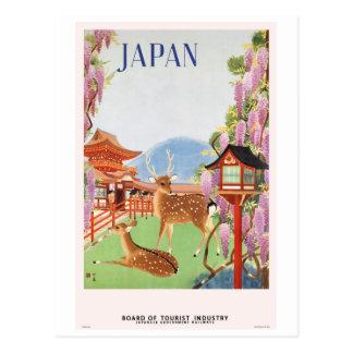 Viaje Japón por el vintage del tren Postal