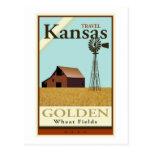 Viaje Kansas Tarjetas Postales