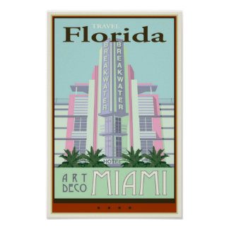 Viaje la Florida Póster