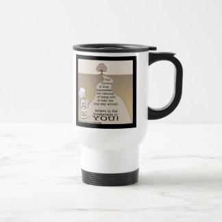 Viaje largo tazas de café