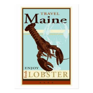 Viaje Maine Tarjeta Postal