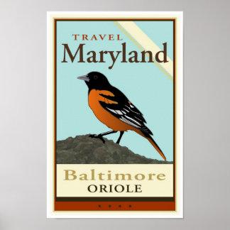 Viaje Maryland Poster