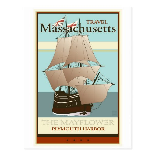 Viaje Massachusetts Tarjetas Postales